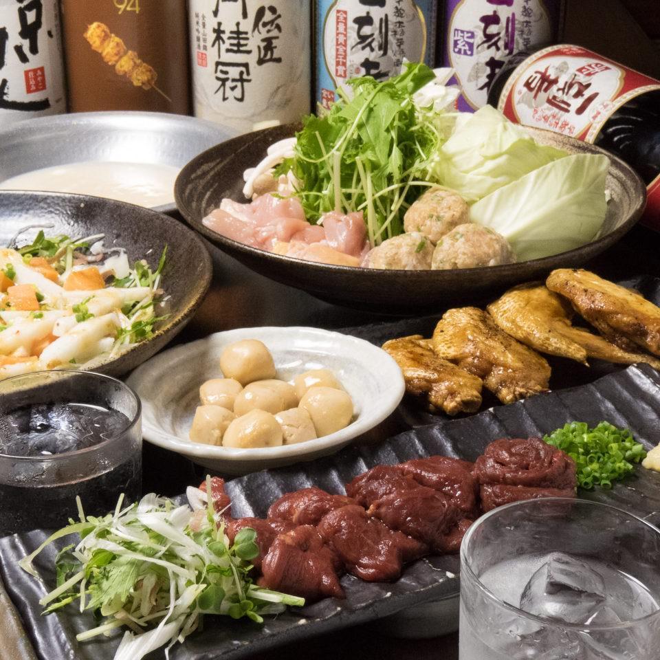 とりいちず酒場 東久留米店の鶏料理が満喫できるコース